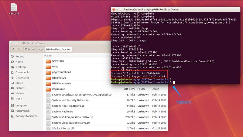 将.NET Core编写的数据可视化项目打包成Docker镜像,实现容器化部署